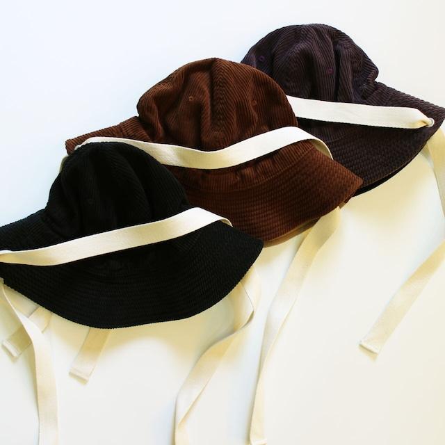DECHO デコー HUNTER HAT CORDUROY 11-1AD20 ひも付きコーディロイハンターハット ユニセックス帽子