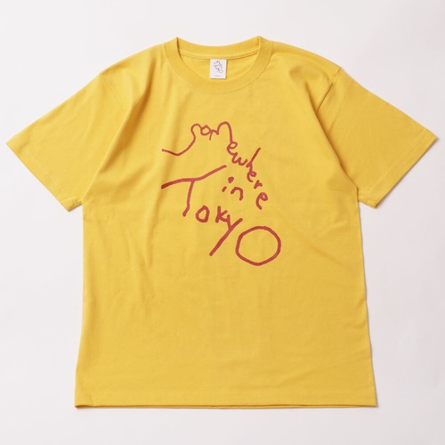 Logo Tee / Designed by Tomoo Gokita / YELLOW