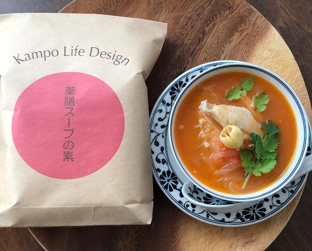 夏の薬膳スープ