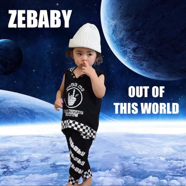ZEBABY ROCK ME ALL NIGHT LONG 上下セット(税込み)