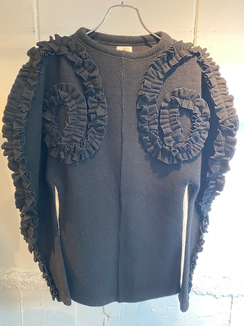 DECOdepuis1985 knit round section tops