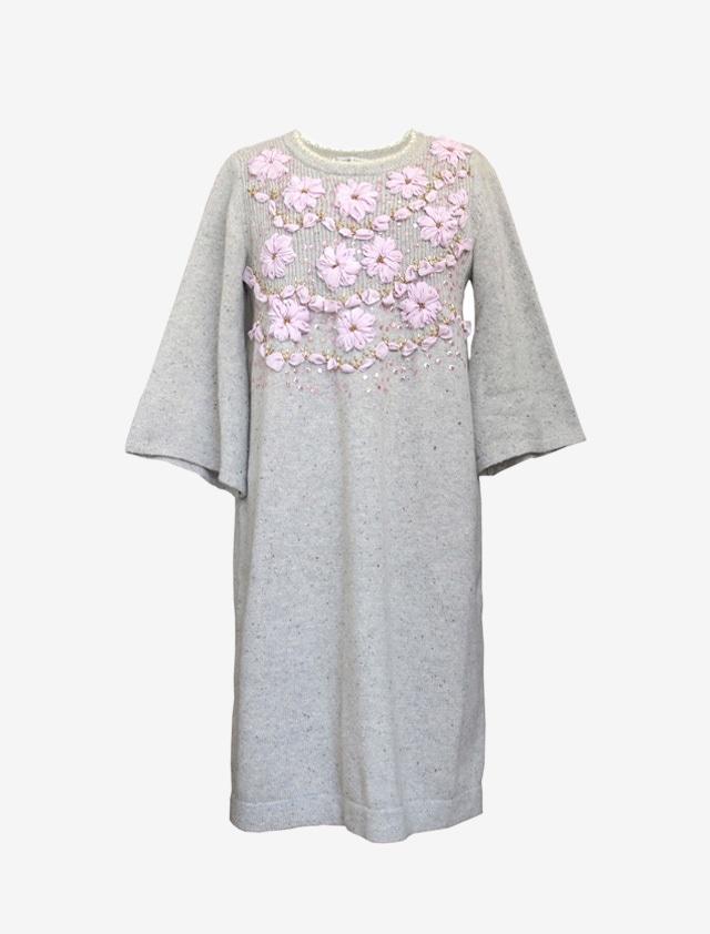 TSUMORI CHISATO ツモリチサト ニット ドレス