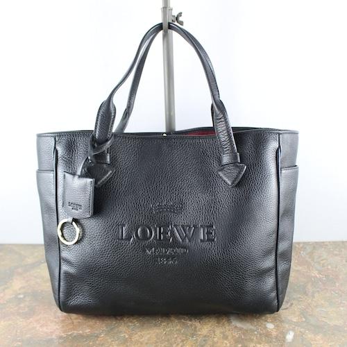 .LOEWE HERITAGE LINE LEATHER TOTE BAG MADE IN SPEIN/ロエベヘリテージラインレザートートバッグ 2000000050331