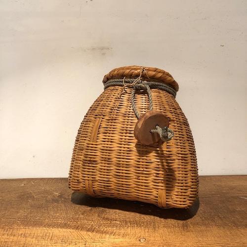 竹かご  竹製ビク
