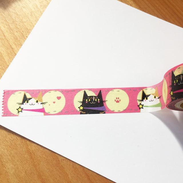 ネコスキングテープ・おんにゃのこ編/猫好きに捧げるマスキングテープ