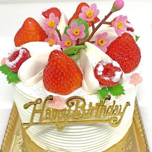お誕生日ケーキ4号(2~4名様分)