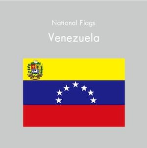 国旗ステッカー ベネズエラ