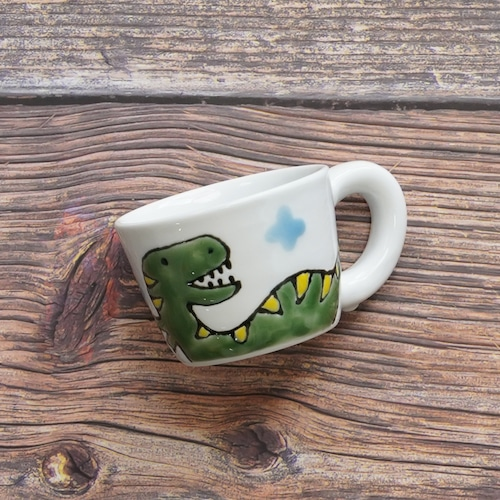 恐竜ミニマグカップ