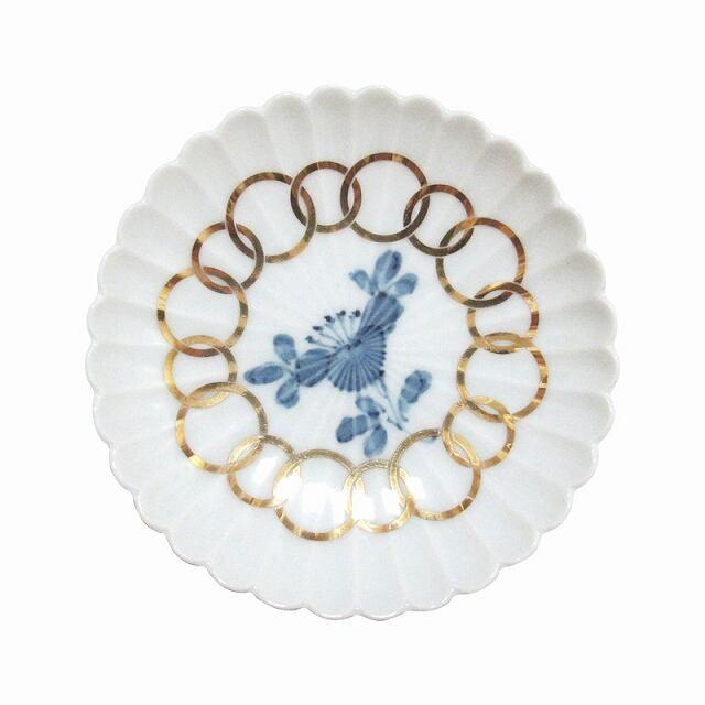 amabro (アマブロ)  MAME (豆皿) 【椿紋輪花】