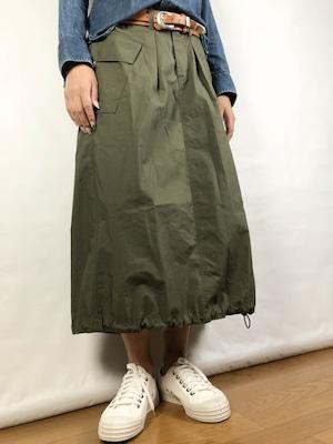 【ONEWASH】ミリタリースカート