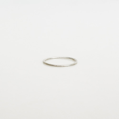 細 ring / silver950