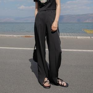 Front slit pants(フロントスリットパンツ)b-194
