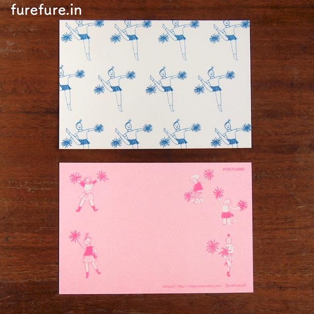【CHIQON】postcard「fure fure.in」