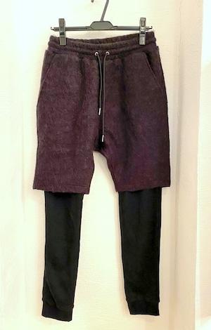 Docking Layered Design Pants Black