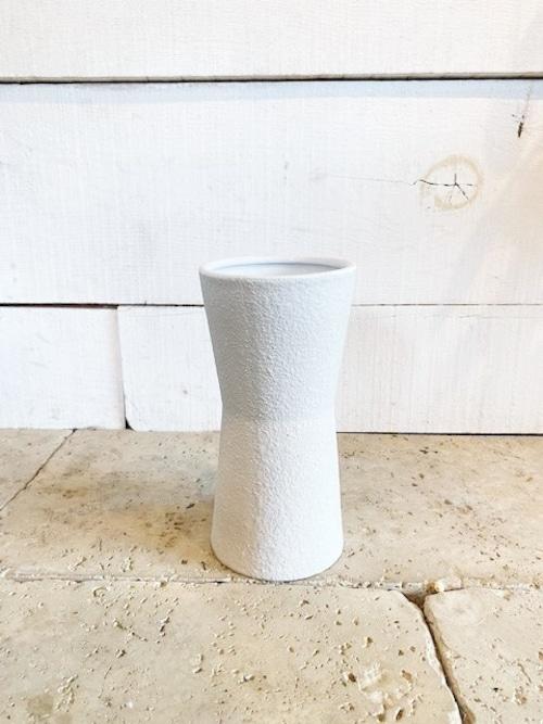 陶器鉢カバー入り(ホワイト) ※3号ビニールポットサイズ
