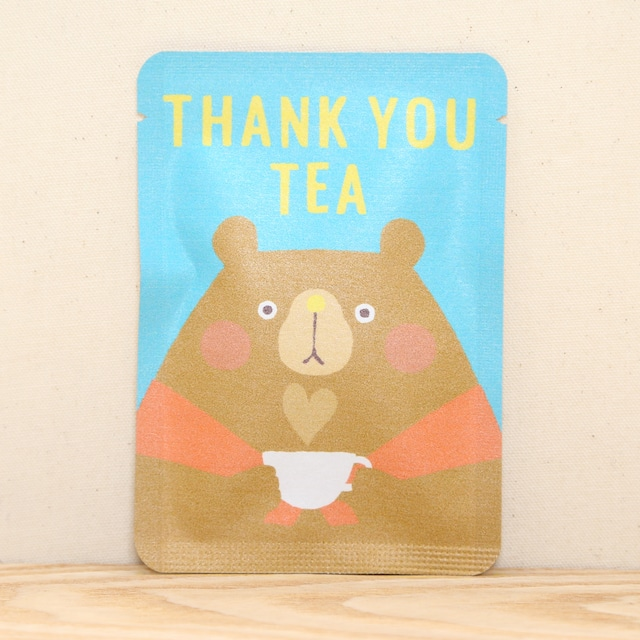 THANK YOU TEA|ごあいさつ茶|和紅茶ティーバッグ1包入り