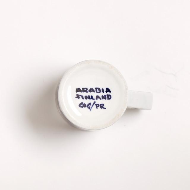 ARABIA アラビア Haarikka ハーリッカ デミタスコーヒーカップ - 4 北欧ヴィンテージ