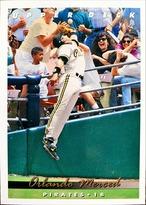 MLBカード 93UPPERDECK Orlando Merced #150 PIRATES