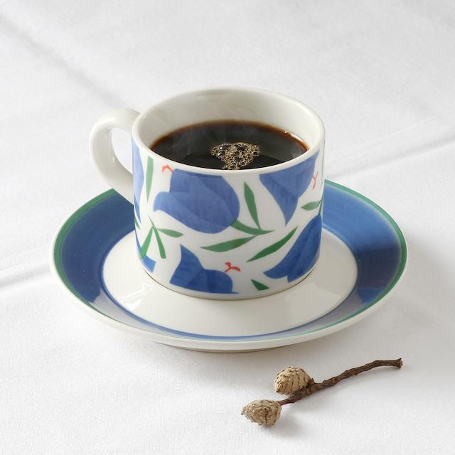 ARABIA アラビア Balladi バラディ コーヒーカップ&ソーサー - 1  北欧ヴィンテージ
