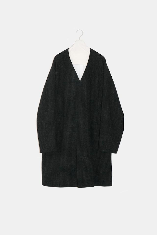 YOKO SAKAMOTO /  OVER COAT (BLACK)