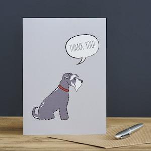 Sweet William【Thank You 】シュナウザー Dog Card