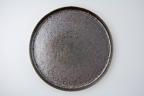 ◆受注生産◆  油滴天目23㎝切立皿 オーダーメイド対応品