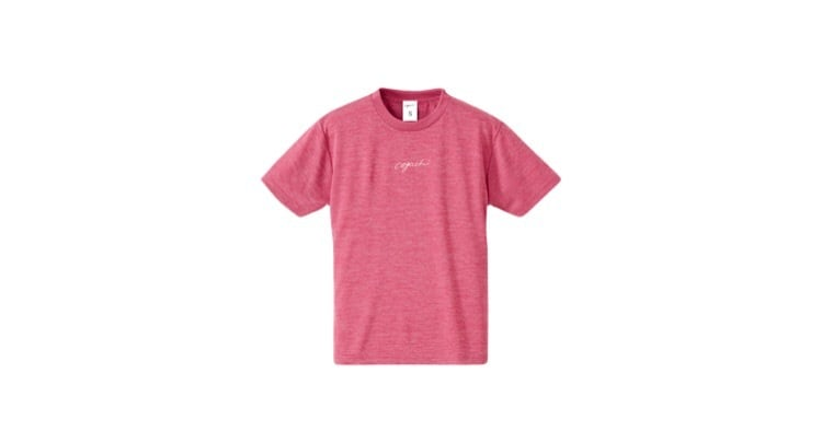 coguchi running dry woman T-shirts (HRED)