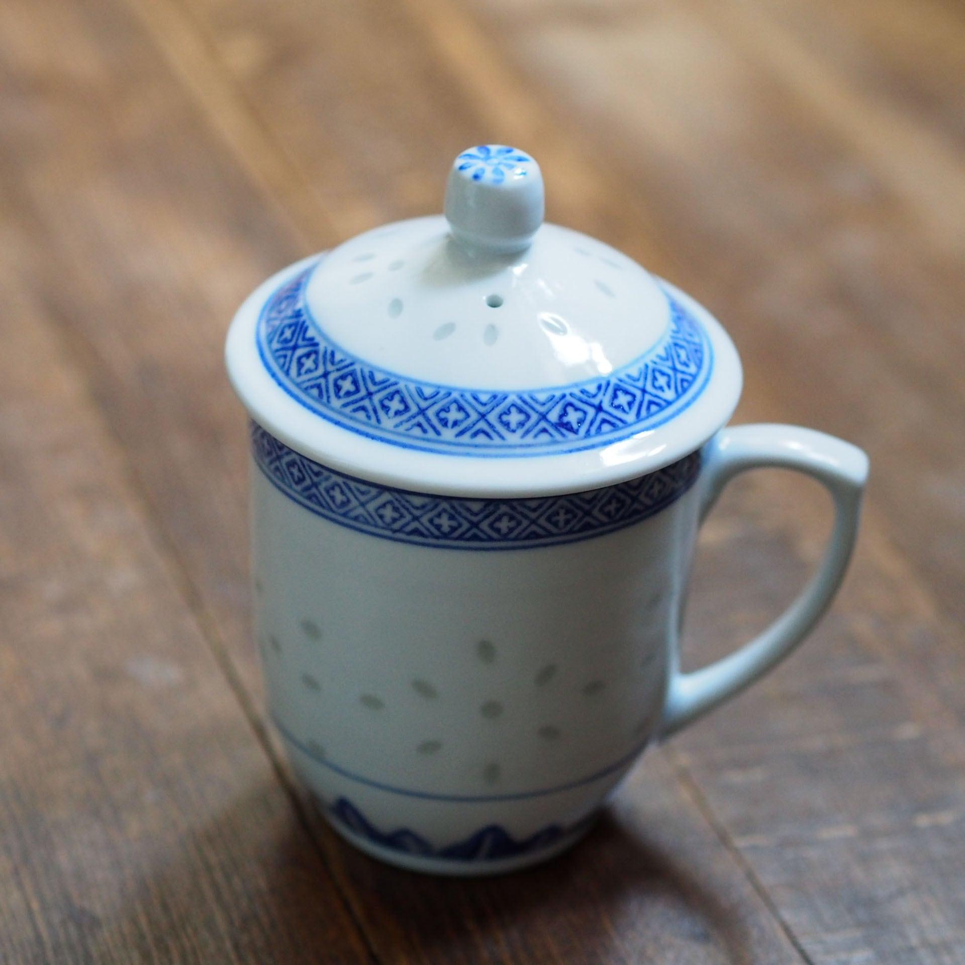 『たっぷりサイズのマグカップ/Blue&White』景徳鎮/ホタル
