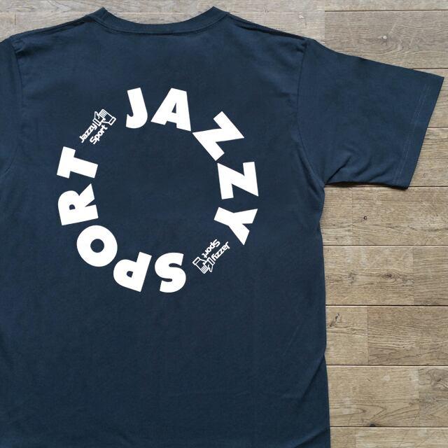 """【残りわずか】JS """"Circle"""" ロゴ Tシャツ/ヴィンテージ・ネイビー"""