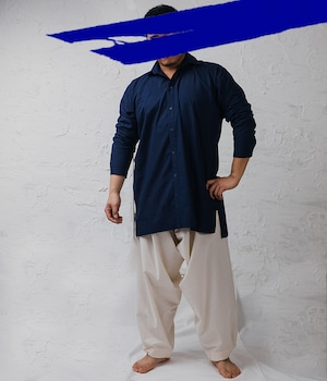 JAN JAN VAN ESSCHE - Mid Length wide fit shirt with inserted rectangular yoke TYPEWRITER COTTON - SHIRT#70
