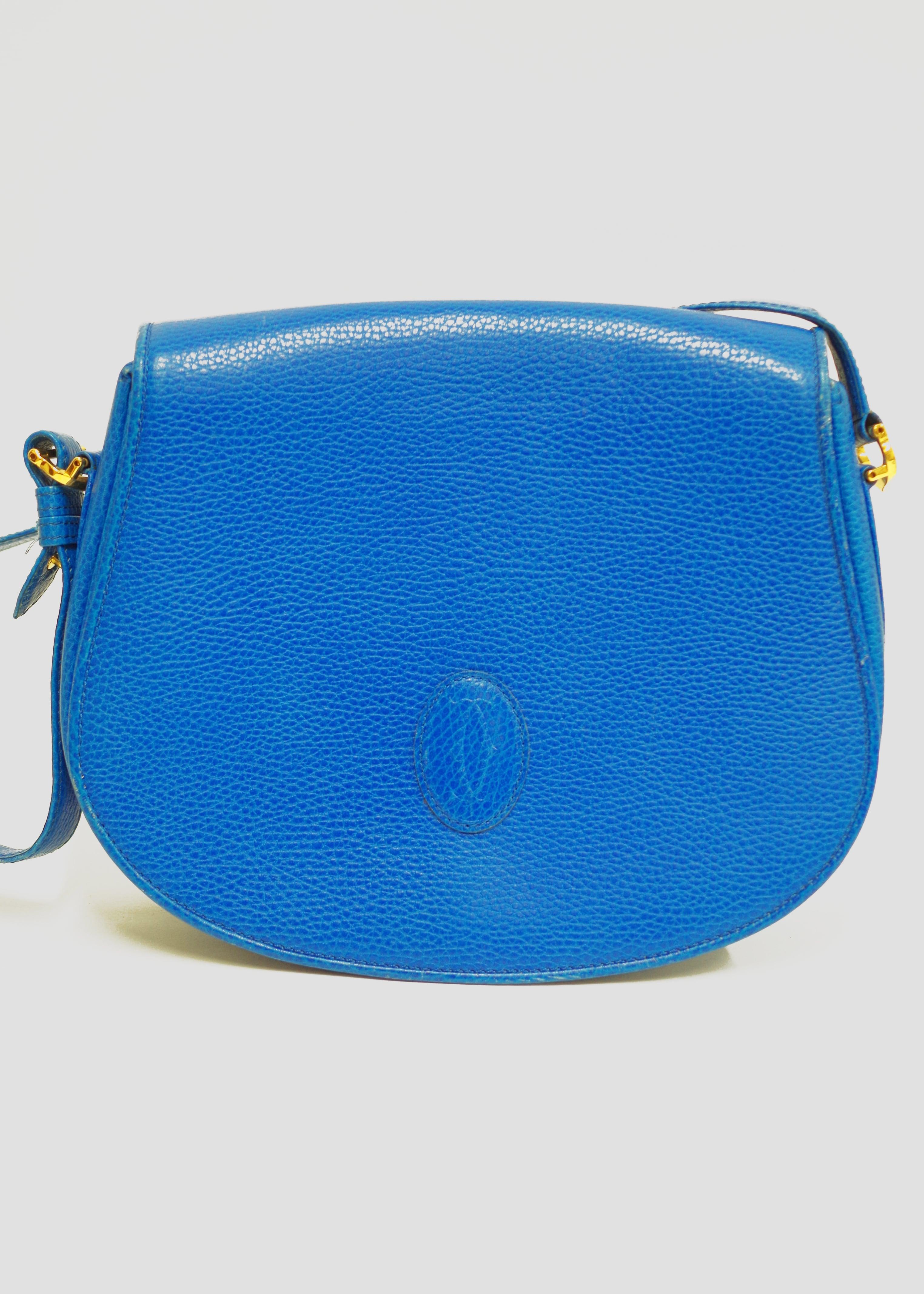 Cartier カルティエ ショルダーバッグ ブルー