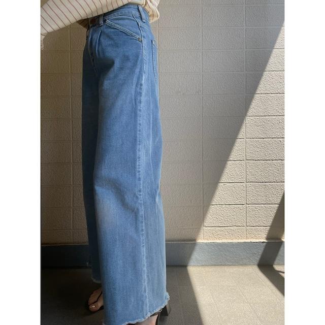 Lee wide denim pants