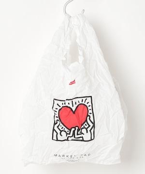 KHB-KH2003【Keith Haring/キースヘリング】Market Eco Bag  (MEDIUM)