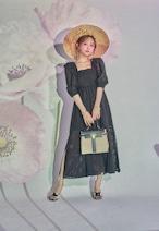 Eyelet Lace Bustier Dress