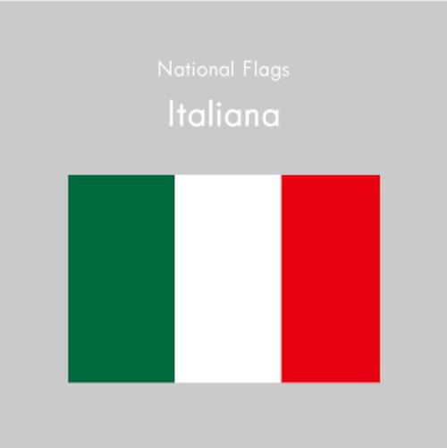 国旗ステッカー イタリア