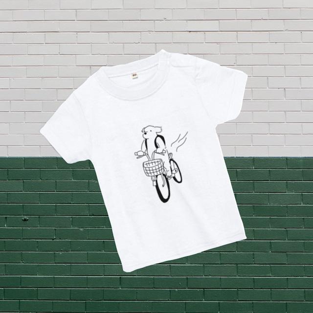 ベビーTシャツ 自転車 ヘビーウェイト5.6oz