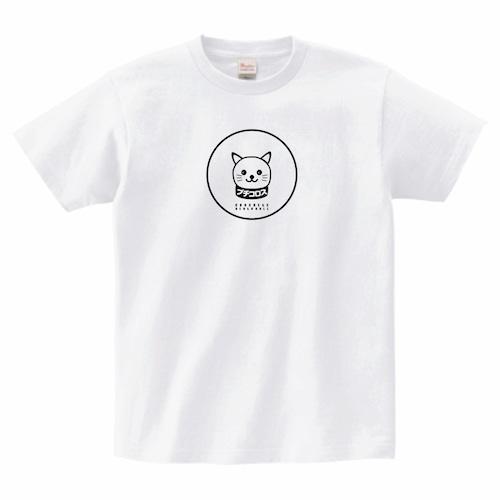 ブチコロス白Tシャツ(猫っぽい)【送料無料】