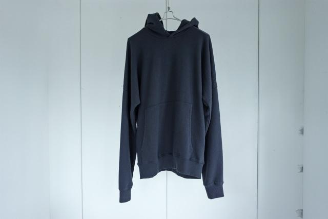 thom krom / Drop shoulder hoodie / BLUE