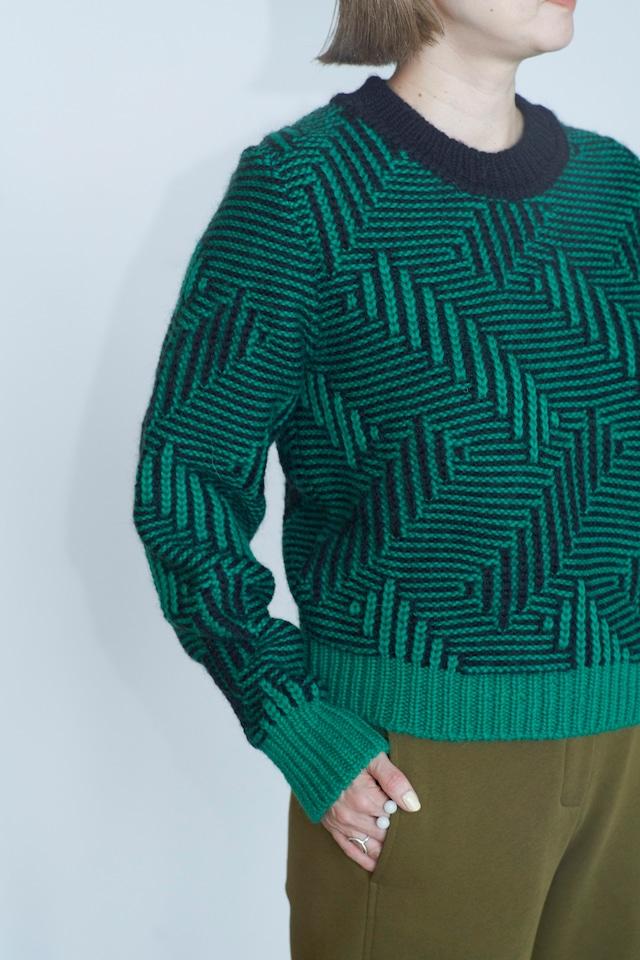TELA crew neck knit