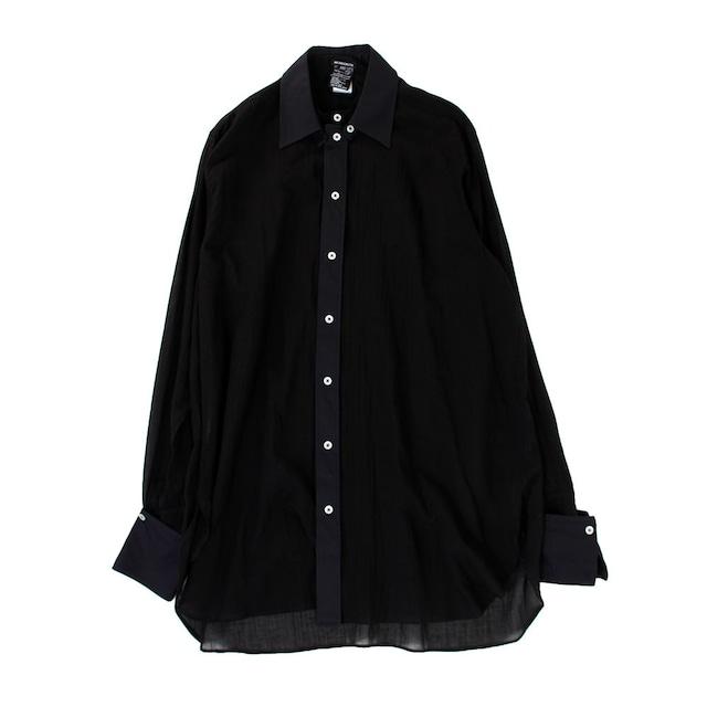 ANN DEMULEMEESTER Long Black Shirt