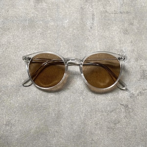CLEAR FRAME (brown)