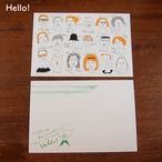 【CHIQON】postcard「Hello!」