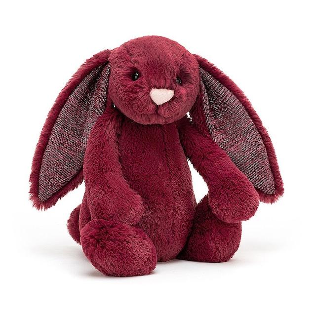 Bashful Sparkly Cassis Bunny Medium_BAS3SCAS