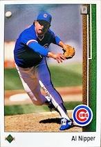 MLBカード 89UPPERDECK Al Nipper #494 CUBS