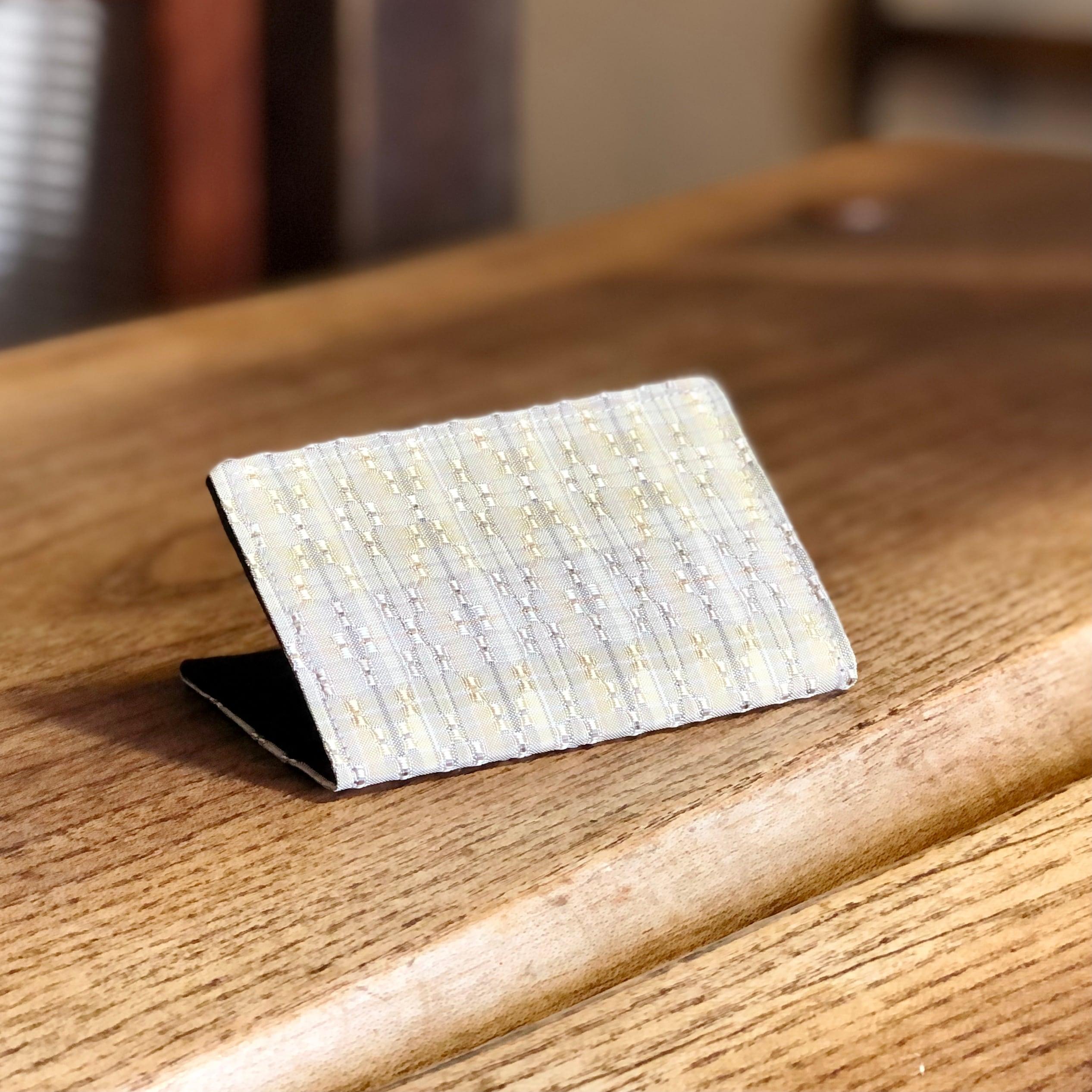 花織カードケース 1