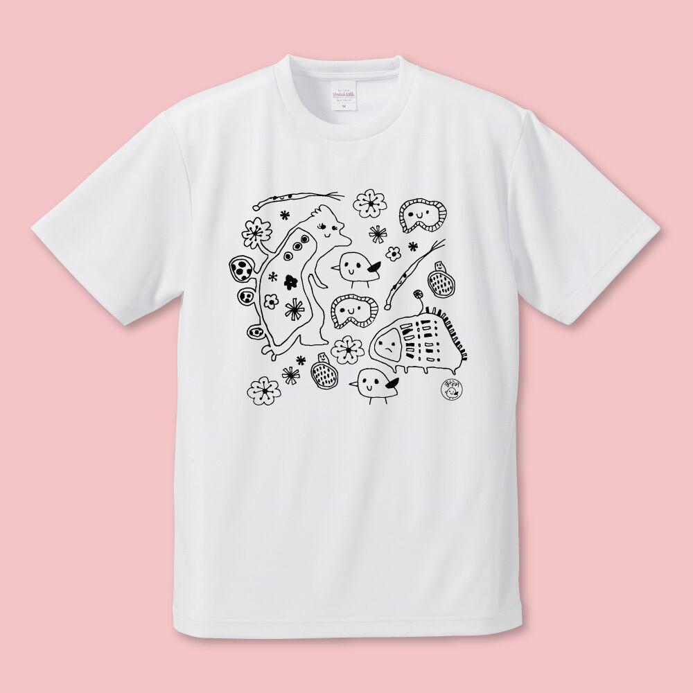 まなぴっぴのお友達 ぜいいんしゅうごう  Tシャツ