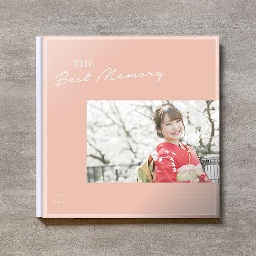 Simple pink-成人式_A4スクエア_6ページ/6カット_クラシックアルバム(アクリルカバー)