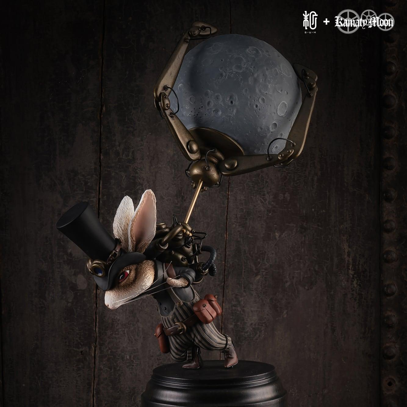 月を盗んだウサギ(Rabbit who stole the moon) 鎌田光司