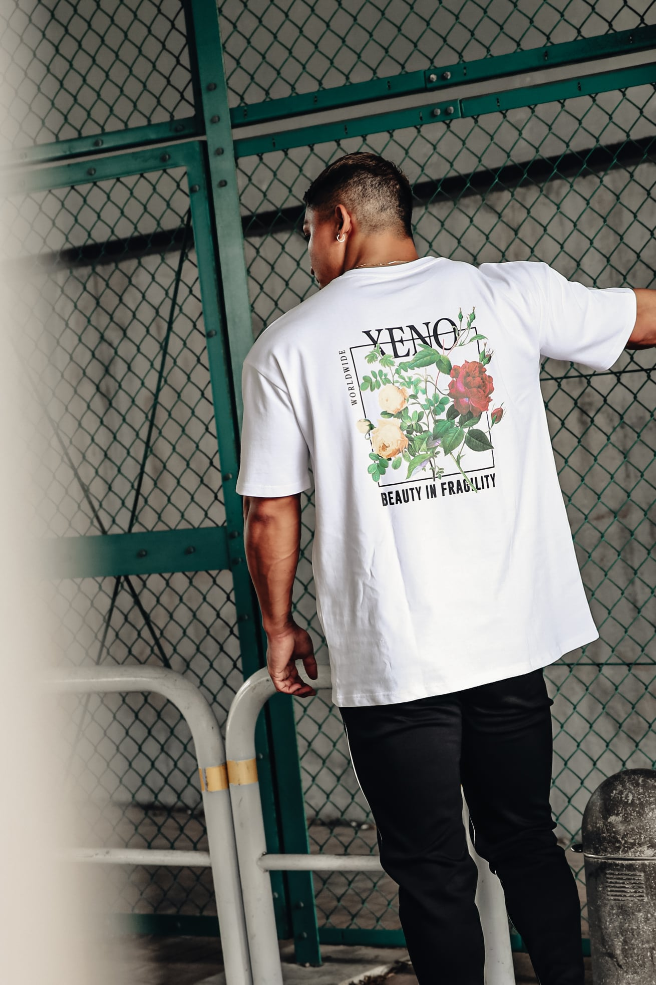 XENO FRAGILITY T-SHIRT White