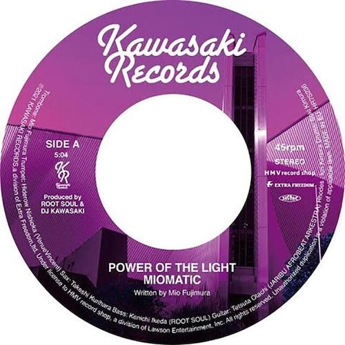 """【予約/7""""】MIOMATIC - POWER OF THE LIGHT / STEP INTO OUR LIFE"""